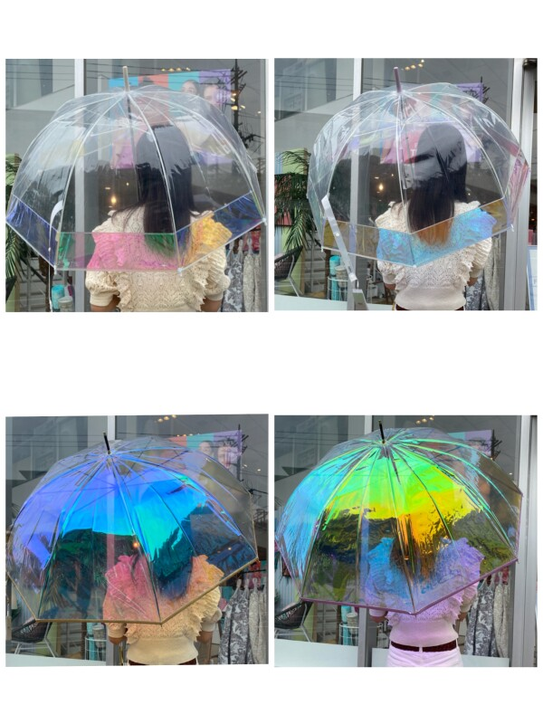 【大人気☆】人気NO1のオーロラ傘が再入荷しました!