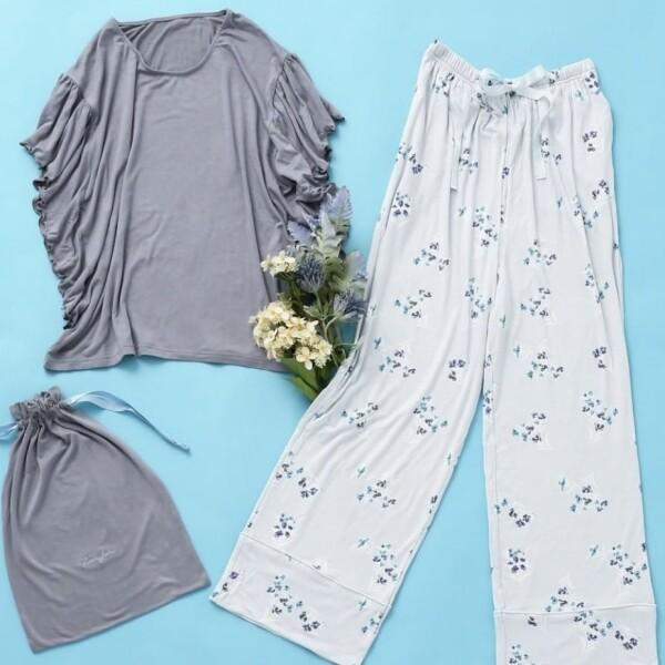 【NEW!】春らしいフラワープリントパジャマです!🌼