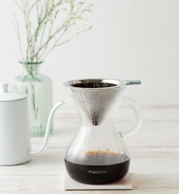 【NEW】おうちで美味しいコーヒーが飲めるグラスドリッパーセット