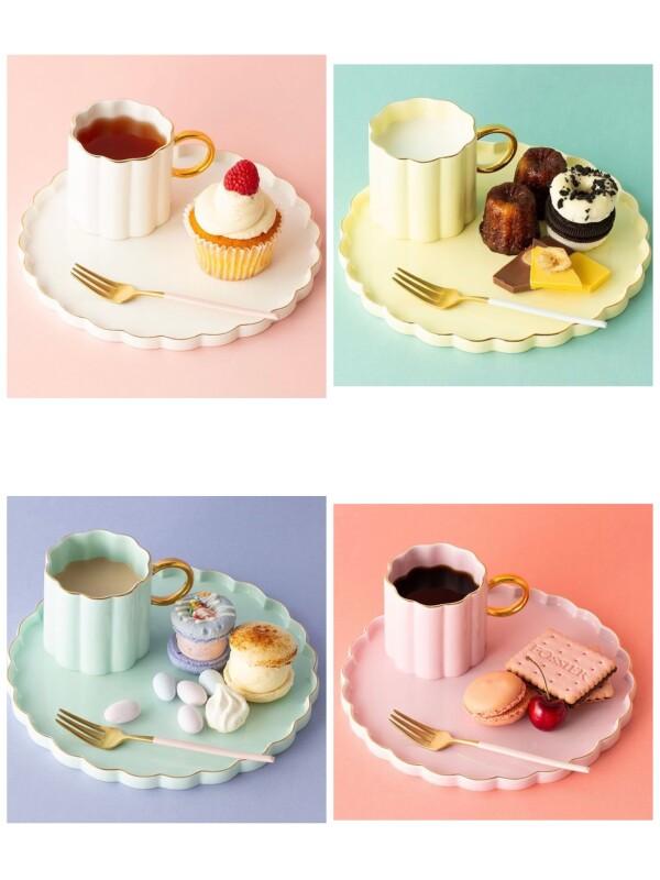 【NEW】パステルカラーが可愛い食器🌸