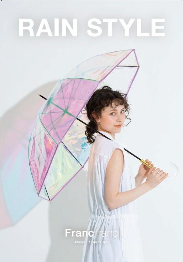 雨の日も気分が上がる傘☔✨