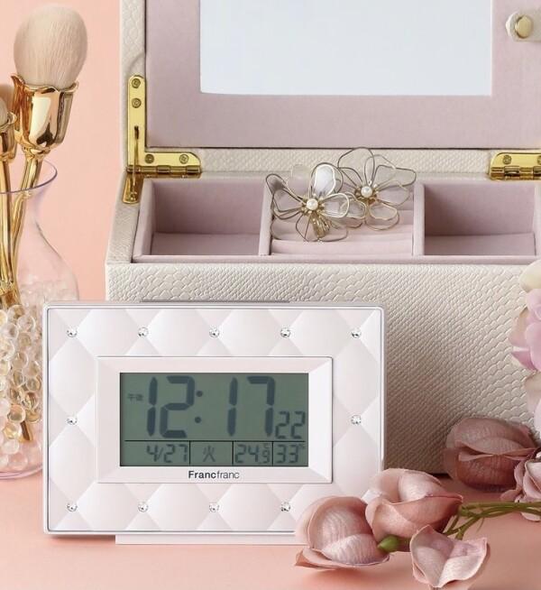 キルティングデザインが可愛い✨時計✨