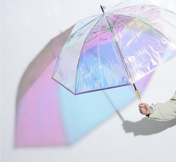 オーロラカラーにキュンとする傘💗