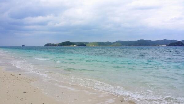 自宅で旅気分★ケラマブルーの海★