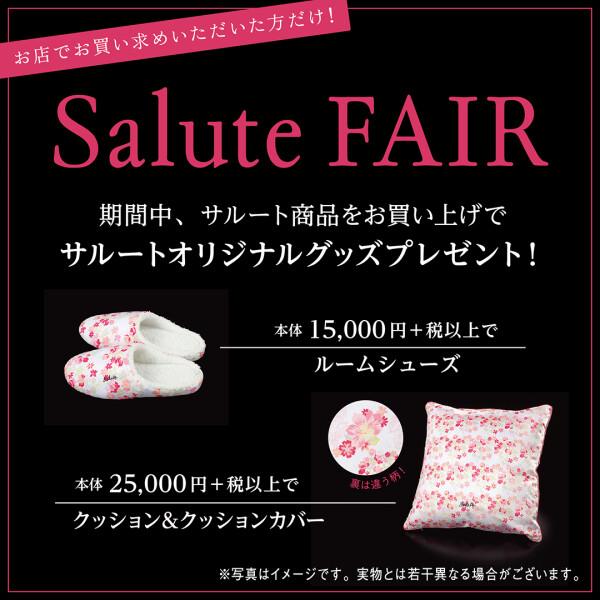 Salute*Fair♡開催!