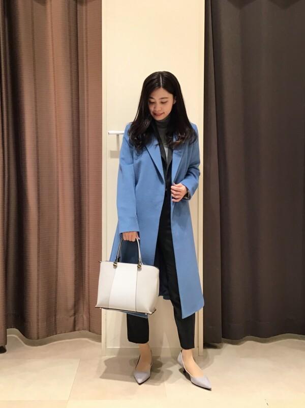 【Ladies】当店一番人気☆カシミヤ混ウールコート