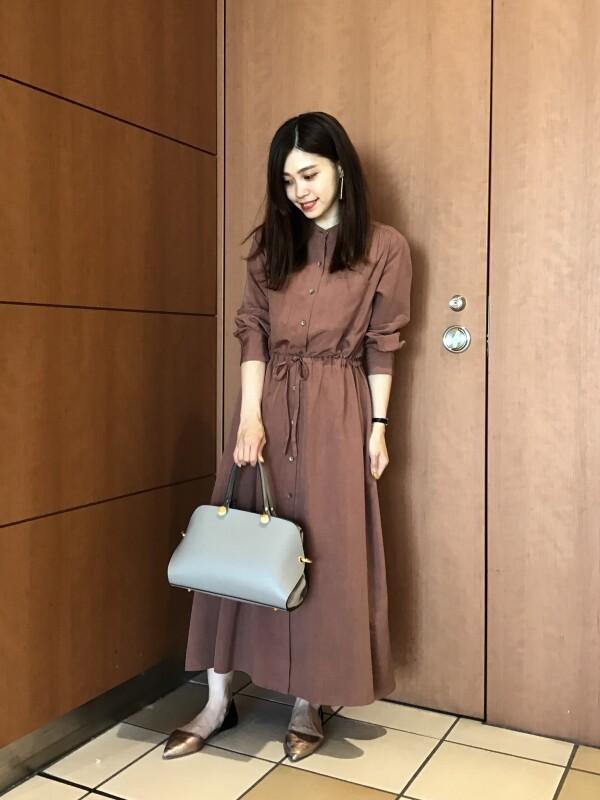 【Ladies】新作ロングワンピース☆