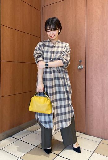 【Ladies】今の時期にぴったり!!シャツワンピース☆