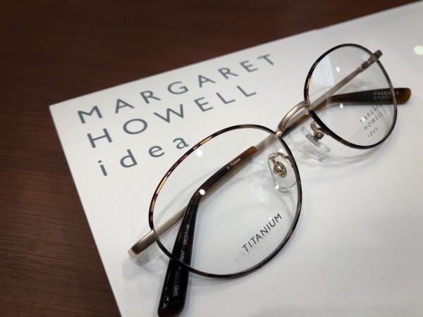 「マーガレット・ハウエル」フレーム紹介Part1