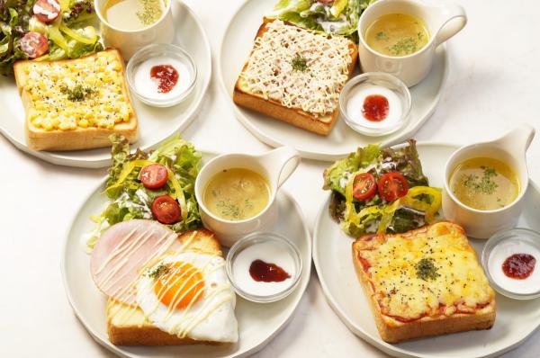 高級食パン専門店嵜本のカフェの人気メニューを紹介します!