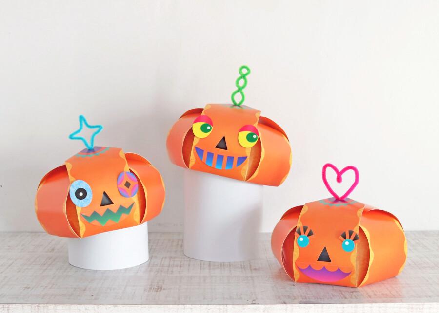 【ハロウィン】かぼちゃのベレー帽を作ろう!