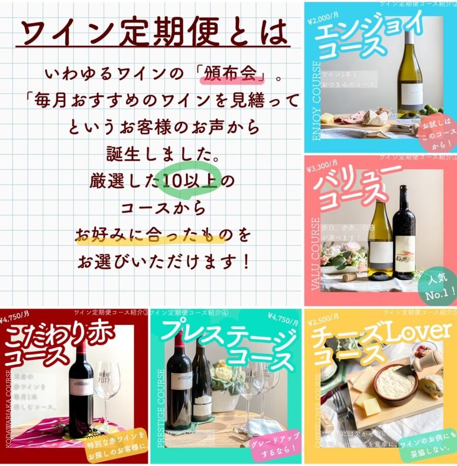 お得なワイン定期便🍷