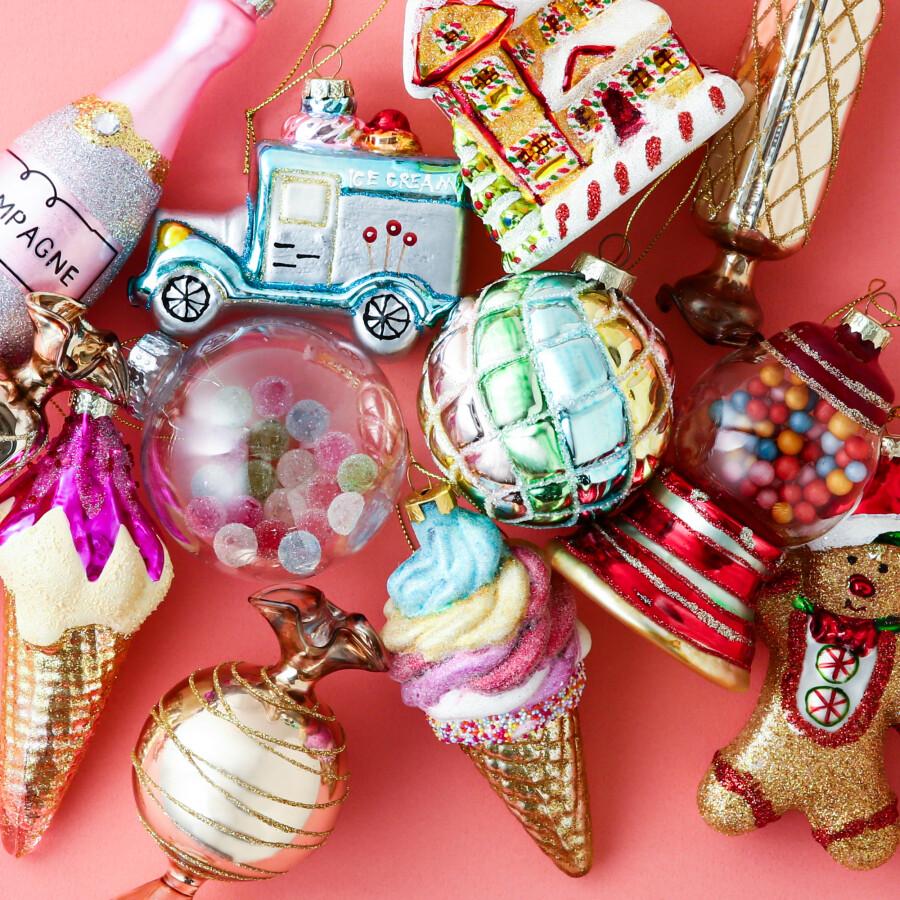【NEW】まるでカラフルなお菓子のようなオーナメント🍬🍰